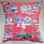 Cushion Cover in Cath Kidston Christmas Funfair 16""